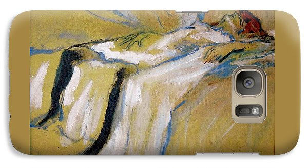 Galaxy Case featuring the painting after Toulouse Lautrec by Jodie Marie Anne Richardson Traugott          aka jm-ART