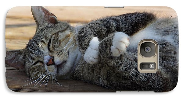 Galaxy Case featuring the photograph Afternoon Nap by Tannis  Baldwin