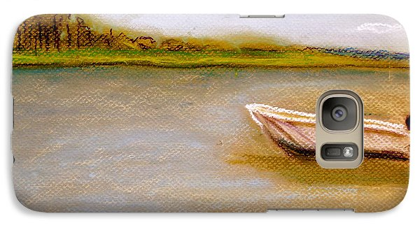 Galaxy Case featuring the painting Tybee Island Afternoon On Alley 3 by D Renee Wilson