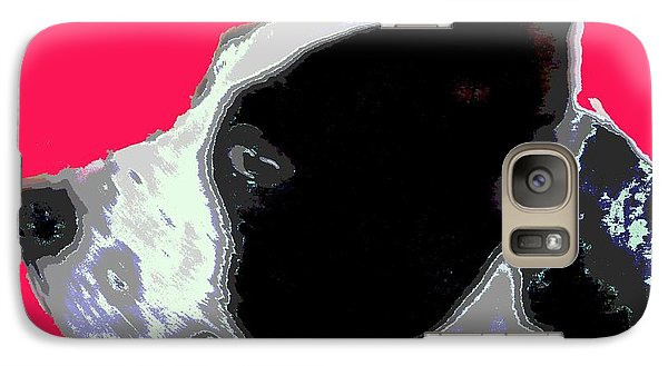 Galaxy Case featuring the digital art Agatha 1 by Sally Simon