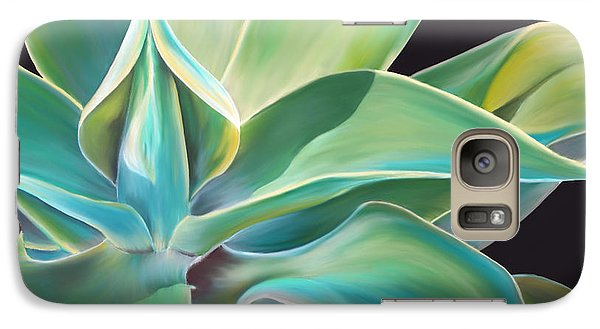 Galaxy Case featuring the painting Agave 2 by Laura Bell