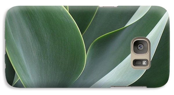 Galaxy Case featuring the photograph Agave 3 by Ranjini Kandasamy