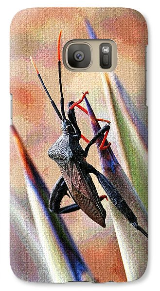 Galaxy Case featuring the photograph Agave Bug  by Tom Janca