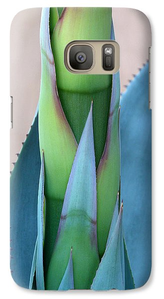 Galaxy Case featuring the photograph Agave Flower Stalk by Cindy McDaniel
