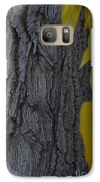 Galaxy Case featuring the photograph Age Lines by Brian Boyle