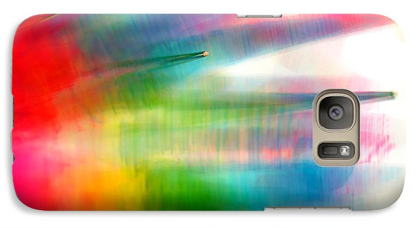 Galaxy Case featuring the photograph Age Of Aquarius by Dazzle Zazz