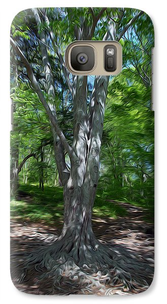 Galaxy Case featuring the digital art Aging Gracefully by Kelvin Booker