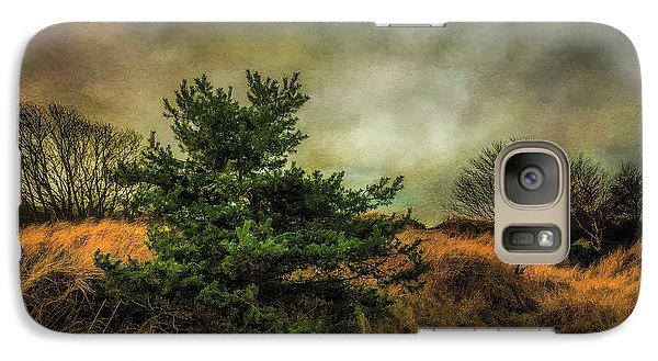 Galaxy Case featuring the photograph Ainsdale Dunes In Winter by Brian Tarr