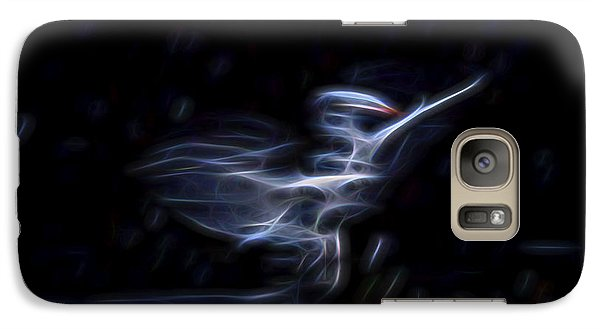Galaxy Case featuring the digital art Air Elemental 1 by William Horden