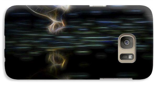 Galaxy Case featuring the digital art Air Elemental 2 by William Horden