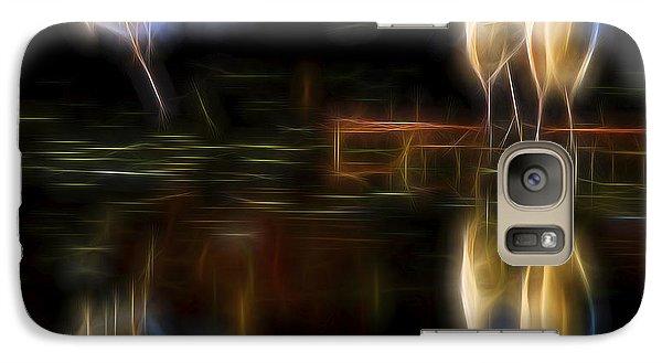 Galaxy Case featuring the digital art Air Elementals 2 by William Horden