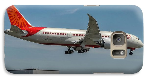 Galaxy Case featuring the photograph Air India 787 by Jeff Cook
