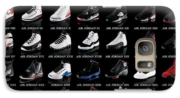 Air Jordan Shoe Gallery Galaxy Case by Brian Reaves