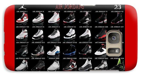 Air Jordan Shoe Gallery Galaxy S7 Case