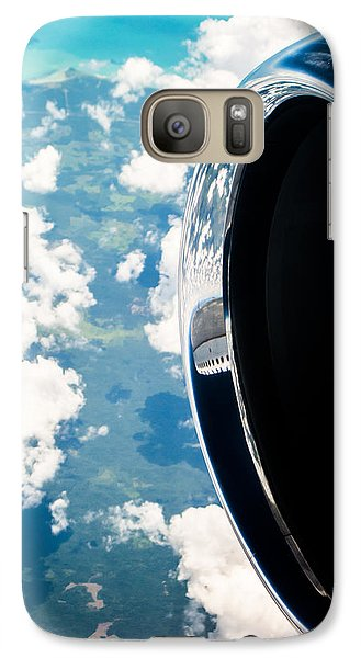 Jet Galaxy S7 Case - Tropical Skies by Parker Cunningham