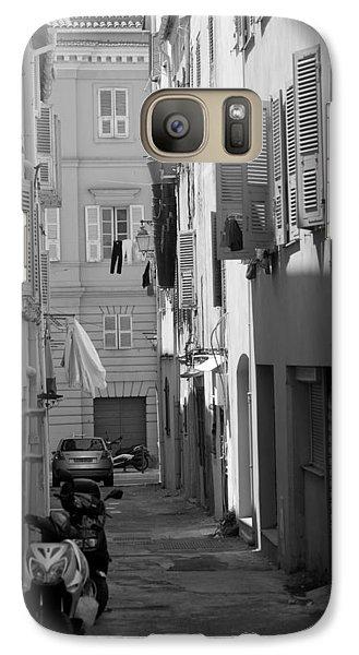 Ajaccio Back Alley Galaxy S7 Case