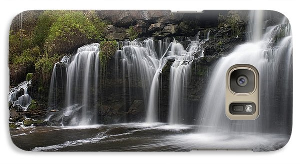 Galaxy Case featuring the photograph Akron Falls by Timothy McIntyre