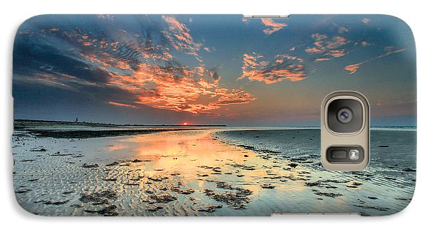 Galaxy Case featuring the photograph Al Hamra Sunset by Robert  Aycock