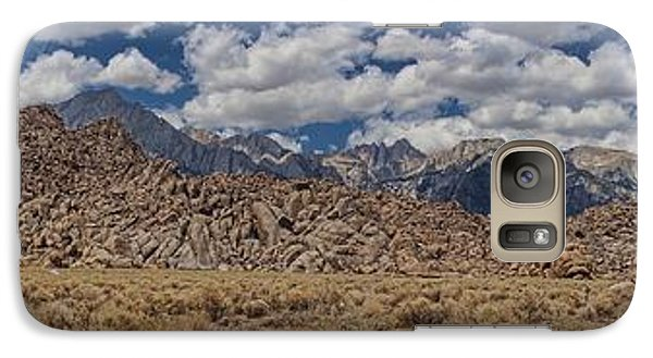 Alabama Hills And Eastern Sierra Nevada Mountains Galaxy S7 Case by Peggy Hughes