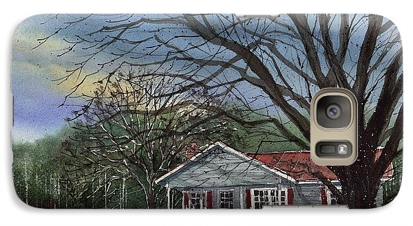 Galaxy Case featuring the painting Alabama House by Tim Oliver