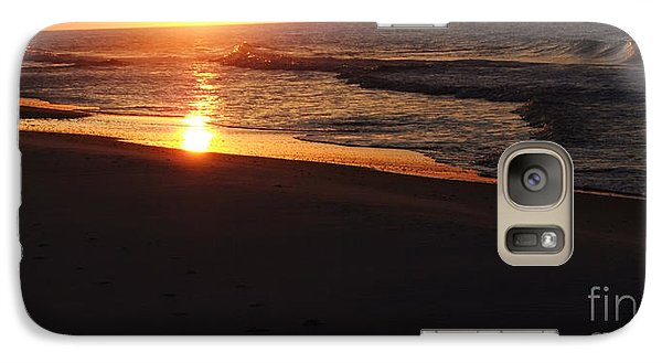 Galaxy Case featuring the photograph Alabama Sunset At The Beach by Deborah DeLaBarre