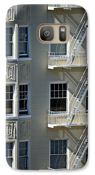 Galaxy Case featuring the photograph Alamo Square San Francisco by Steven Richman