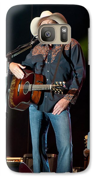 Galaxy Case featuring the photograph Alan Jackson - Where I Come From by John Black