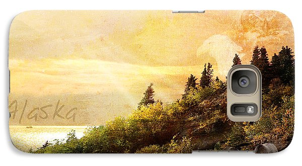 Galaxy Case featuring the photograph Alaska Montage by Ann Lauwers