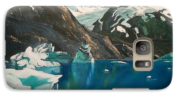 Galaxy Case featuring the painting Alaska Reflections by Sharon Duguay