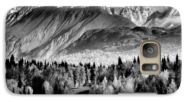 Galaxy Case featuring the photograph Alaskan Mountains by Katie Wing Vigil