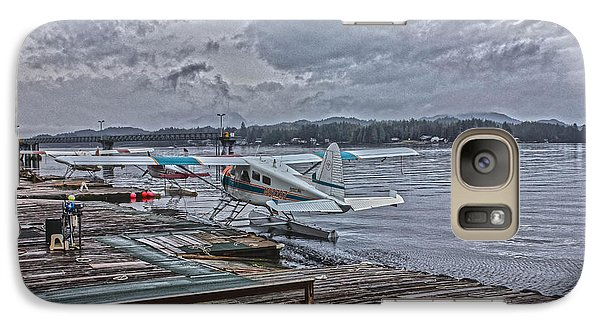 Galaxy Case featuring the photograph Alaskan Seaplane by Timothy Latta