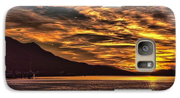 Galaxy Case featuring the photograph Alaskan Sunset by Timothy Latta