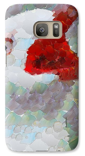 Galaxy Case featuring the painting Albatross by Georgi Dimitrov