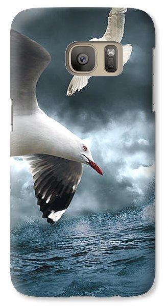 Albatross Galaxy S7 Case by Linda Lees