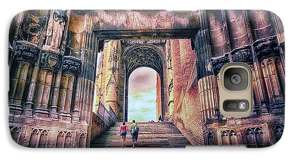 Galaxy Case featuring the photograph Albi Cathedral Arch To Heaven by Jack Torcello
