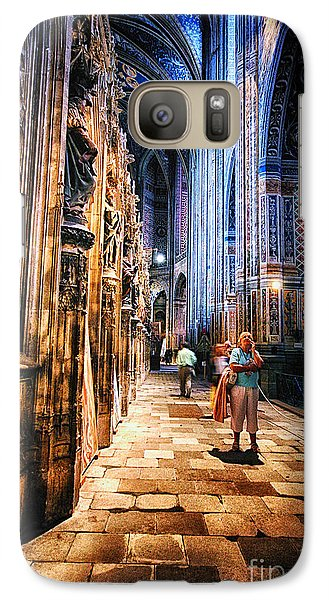 Galaxy Case featuring the photograph Albi Cathedral France by Jack Torcello