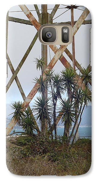 Galaxy Case featuring the photograph Alcatraz Contrasts by Vadim Levin