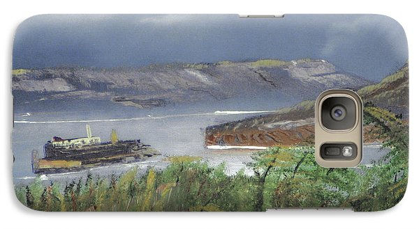 Galaxy Case featuring the painting Alcatraz by Michael Daniels