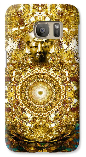 Galaxy Case featuring the digital art Alchemy Of The Heart by Jalai Lama