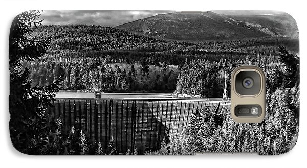 Galaxy Case featuring the photograph Alder Dam Near Mt Rainer Wa by Ron Roberts