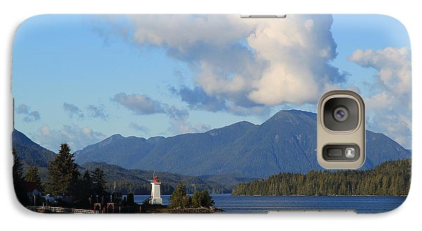 Galaxy Case featuring the photograph Alert Bay Alaska by Jeanette French