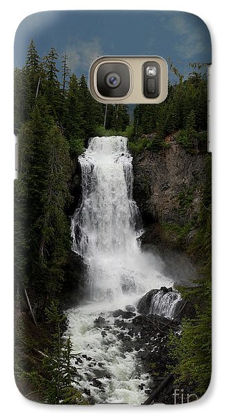 Galaxy Case featuring the photograph Alexander Falls by Rod Wiens