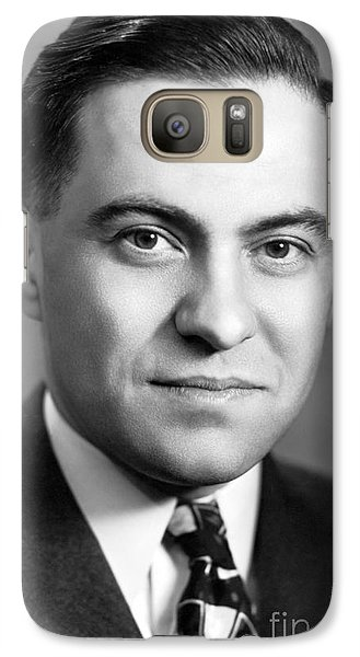 Alfred Nier, Us Physicist Galaxy S7 Case by Emilio Segre Visual Archives/american Institute Of Physics