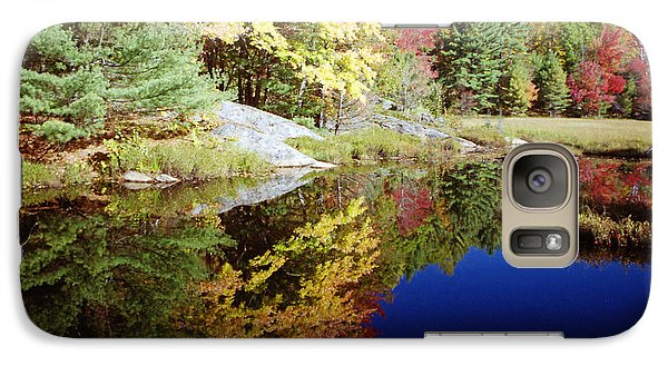 Galaxy Case featuring the photograph Algonquin Reflection by David Porteus