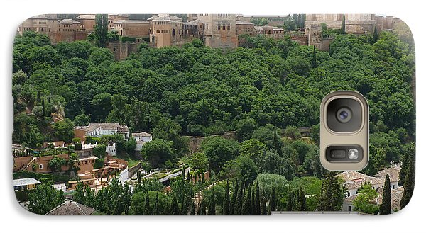 Galaxy Case featuring the photograph Alhambra - Granada - Spain by Phil Banks