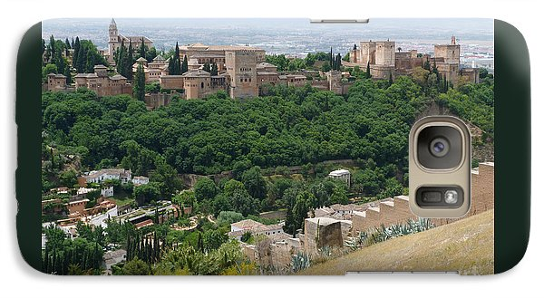 Galaxy Case featuring the photograph Alhambra Palace - Granada by Phil Banks