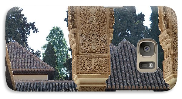 Galaxy Case featuring the photograph Alhambra Palace Rooftops  by Susan Alvaro