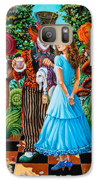 Alice And Mad Hatter. Part 2 Galaxy S7 Case