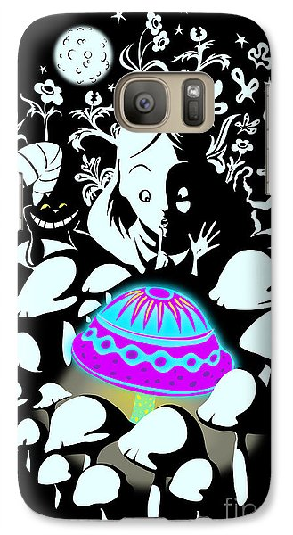Fairy Galaxy S7 Case - Alice's Magic Discovery by Sassan Filsoof