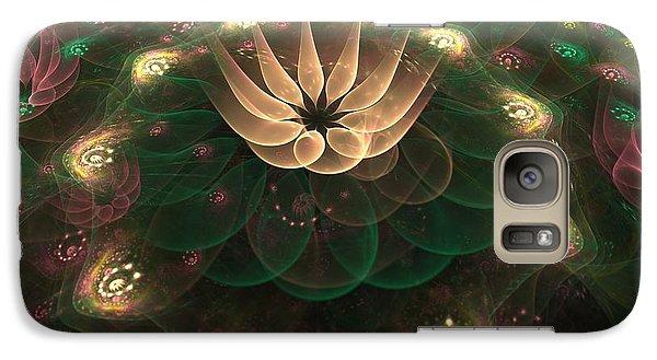 Galaxy Case featuring the digital art Alien Flower by Svetlana Nikolova